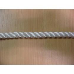 Cordage en Polyamide Câblé, Ø 12 mm, Blanc, 3 Torons, en bobine de 400 mètres