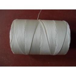 Tresse Polyamide Ø 1 mm, Blanche, 1000 M/kg, en Bobine de 1 kg