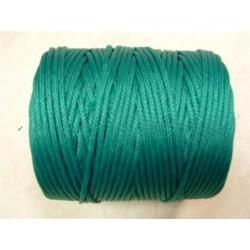 Cordage en Polyéthylène Tressé 3 mm Vert (1kg)