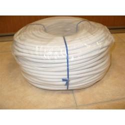 Sandow Supérieur Ø 8 mm, Blanc uni, en Bobine de 100 ml