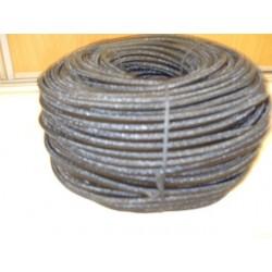 Sandow Supérieur Ø 8 mm, Noir uni, en bobine de 100 mètres