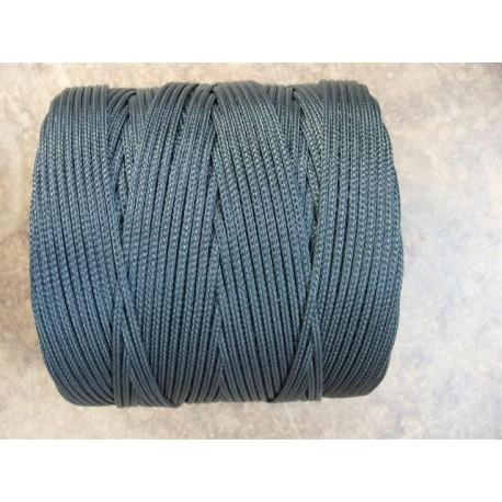 Tresse en Polyéthylène Ø 3 mm, Noir, en bobine de 1 kg (270 métres)