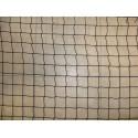 Filet de volière, Mailles 25 mm, fil Ø 1.8 mm + cordage cousu