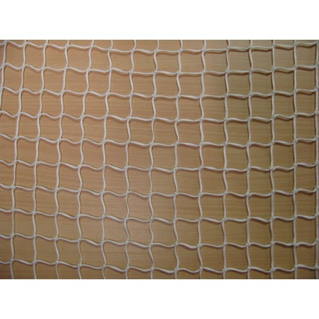 Filet en Polyamide, blanc, mailles 25 mm, fil Ø 2 mm