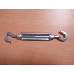 Tendeur n°8 à 2 crochets, en acier galvanisé