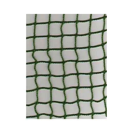 Filet de Benne, Vert, Mailles 25 mm + cordage en Polyéthylène