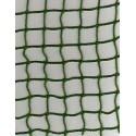 Filet de Benne Mailles 25 mm+cordage en Polyéthylène 3mm