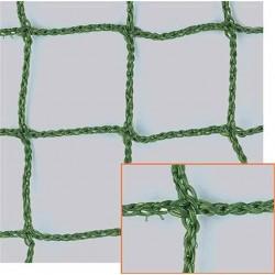 Filet Pare-Ballons, Mailles 45 mm, Ø 2,5 mm, vert, équipé d'une ralingue périphérique