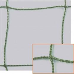 Filet Pare-Ballons, Mailles 100 mm, Ø 2,5 mm, vert, équipé d'une ralingue périphérique