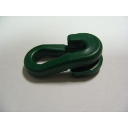 Anneau Brisé en PVC Vert