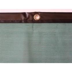 Brise-vent filtration 70% + Bande PVC + Oeillets