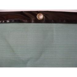 Brise-vent filtration 50% + Bande PVC + Oeillets