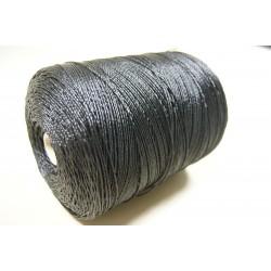 Bobine de cordage en Polyéthylène, Cablé, Ø 2 mm, Noir, de 1 kg