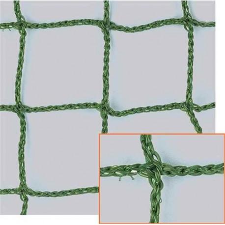 Filet de Benne, Vert, Mailles 45 mm + cordage 3 mm en Polyéthylène