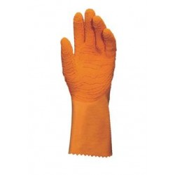 Paire de Gants HARPON 321 - Orange - Taille 7 / 7.5