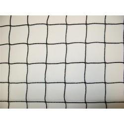 Filet Pare-Ballons, Mailles 50 mm, Ø 1.8 mm, noir, équipé d'une ralingue périphérique