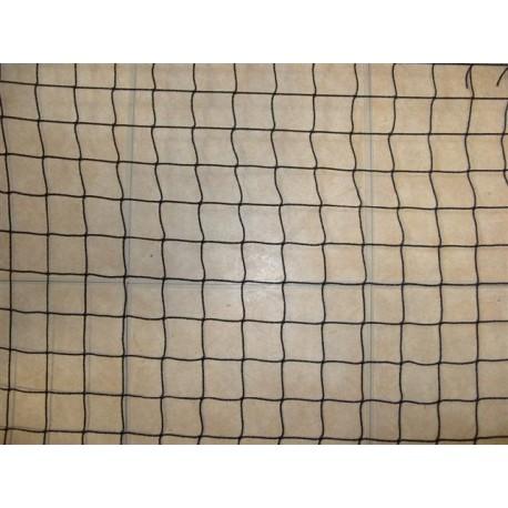 Filet Pare-Ballons, Mailles 25 mm, Ø 1.8 mm, noir