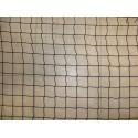Filet Pare-Balles, Mailles 25 mm, Ø 1.8 mm, noir, équipé d'une ralingue périphérique