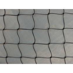 Filet en Polyamide, noir, mailles 100 mm, fil Ø 3 mm
