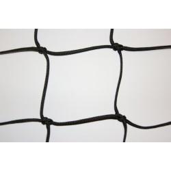 Filet de Sécurité à la norme EN1263-1, Mailles 100 mm, Noir