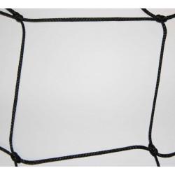 Filet Pare-Ballons, Mailles 145 mm, Ø 3 mm, noir , équipé d'une ralingue périphérique