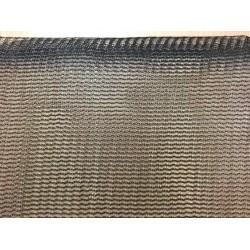 Brise-vent filtration 50% Noir Brut